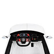 Дитячий електромобіль Bentley M 4109EBLR-1 білий Гарантія якості Швидка доставка, фото 3