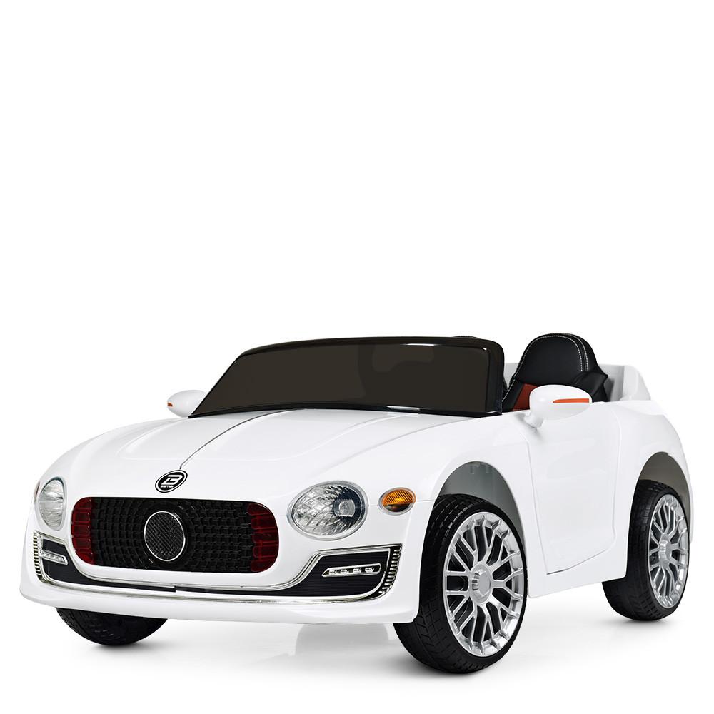 Дитячий електромобіль Bentley M 4109EBLR-1 білий Гарантія якості Швидка доставка