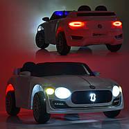 Дитячий електромобіль Bentley M 4109EBLR-1 білий Гарантія якості Швидка доставка, фото 7