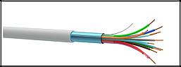 ALARM CABLE 4x0.22 (медь, с жилой заземления) (за 100м)