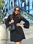 Женское платье свободного кроя с рюшами (в расцветках), фото 3