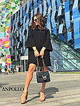 Женское платье свободного кроя с рюшами (в расцветках), фото 5
