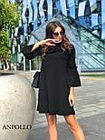 Женское платье свободного кроя с рюшами (в расцветках), фото 7