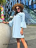 Женское платье свободного кроя с рюшами (в расцветках), фото 8