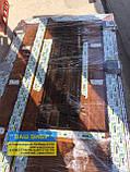 Двери входные 1200 металлопластиковые с окном и ковкой, фото 5