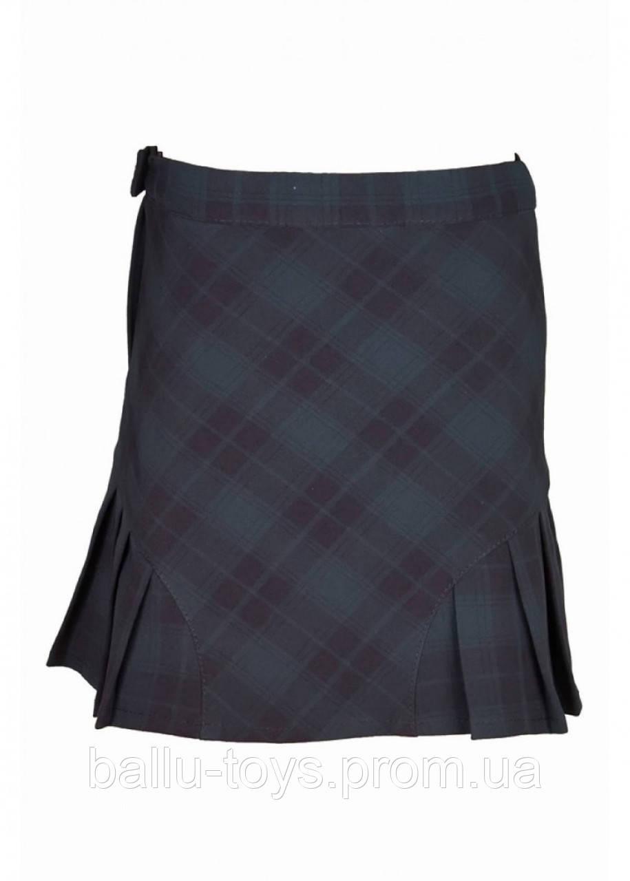 Юбка-шотландка на девочку (6-12 лет)