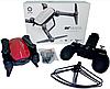 Квадрокоптер Jie Star Air Musha X9TW c WiFi камерой дрон складной вертолет + Складывающийся корпус + Подарок