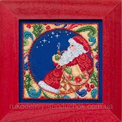 "Набор для вышивания ""Santa//Санта"" Mill Hill JS304102"