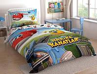 Детское/подростковое постельное белье TAC Disney Super Wings Ранфорс