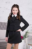 Школьный пиджак для девочки Школьная форма для девочек Новая форма Украина Anna