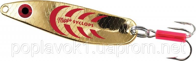 Блесна Mepps Syclops (желтый/красный 0/8г)