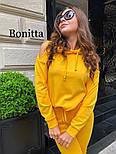 Женский повседневный прогулочный спортивный костюм с вырезами на плечах (в расцветках), фото 3