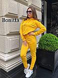 Женский повседневный прогулочный спортивный костюм с вырезами на плечах (в расцветках), фото 5