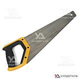 Ножовка по дереву 400 мм с пластиковой 2-х компонентной рукояткой | СИЛА 320503, фото 3