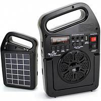Портативный радиоприемник Golon RX-498BT bluetooth с солнечной панелью
