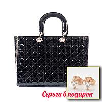 Сумка Женская ⭐ Dior стеганная черная