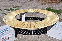 Садовая подвесная лавка, фото 1