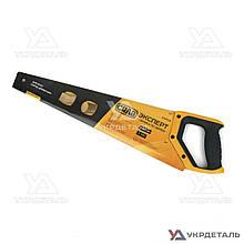 Ножовка по дереву 500 мм тефлон с пластиковой 2-х компонентной рукояткой   СИЛА 320508