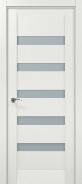 Двери Папа Карло Millenium ML-02 Белый ясень 2000х610х40