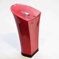 Каблук женский пластиковый 575 красный р.1-3  h-7.6-8.2 см., фото 3