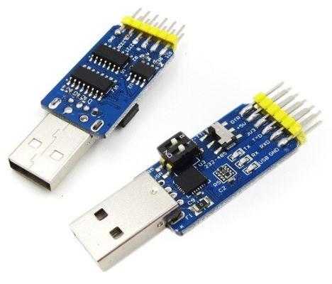 Модуль конвертер на чипе Silabs CP2102 USB - 6 в 1