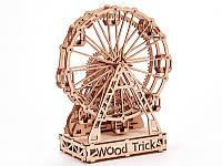 Конструктор деревянный Механическое колесо обозрения  3D. Wood trick пазл. 100% ГАРАНТИЯ КАЧЕСТВА!!!