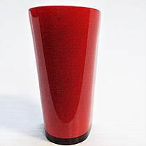 Каблук женский пластиковый 1051 красный р.1-3  h-9,5-10,2 см., фото 2