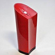 Каблук женский пластиковый 1051 красный р.1-3  h-9,5-10,2 см., фото 3