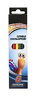 """Цветные карандаши """"Turbo""""  6 цветов TU06100"""