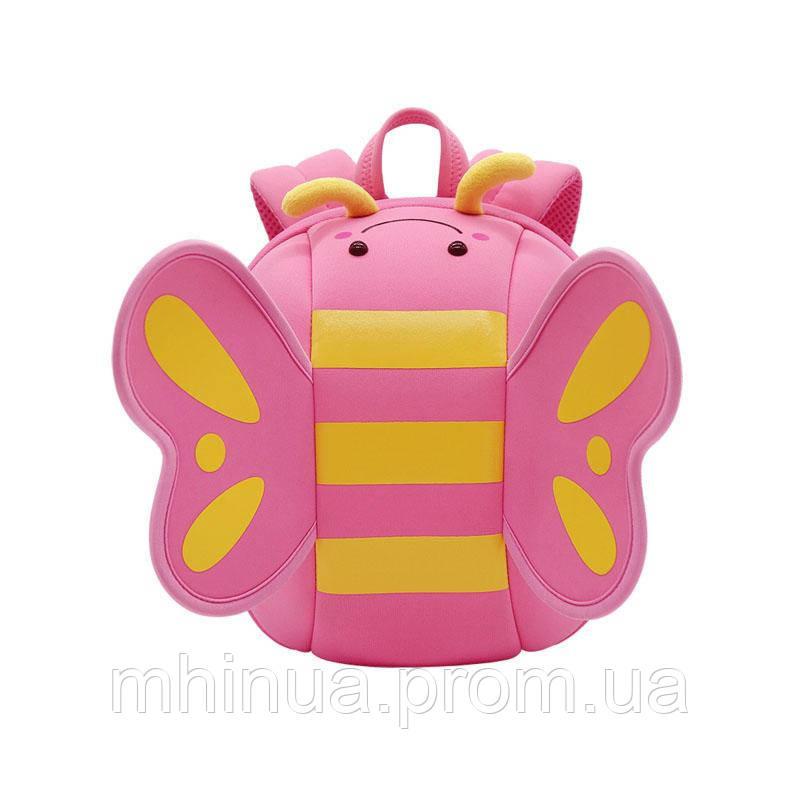 Детский рюкзак Nohoo Бабочка Розовый (NHB125)