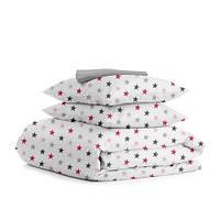 Комплект двуспального постельного белья STAR ROSE GREY