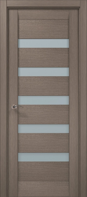 Двери Папа Карло Millenium ML-02 Дуб серый 2000х610х40