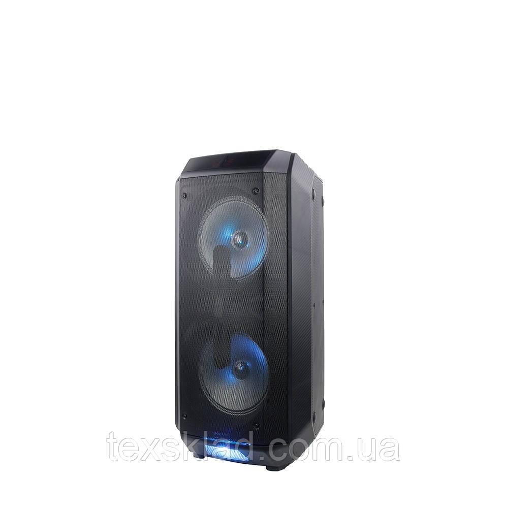Портативная колонка с микрофонами TMS208-01 / 150W (USB/FM/Bluetooth)