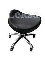 Низкий стульчик мастера педикюра LS-825L Black