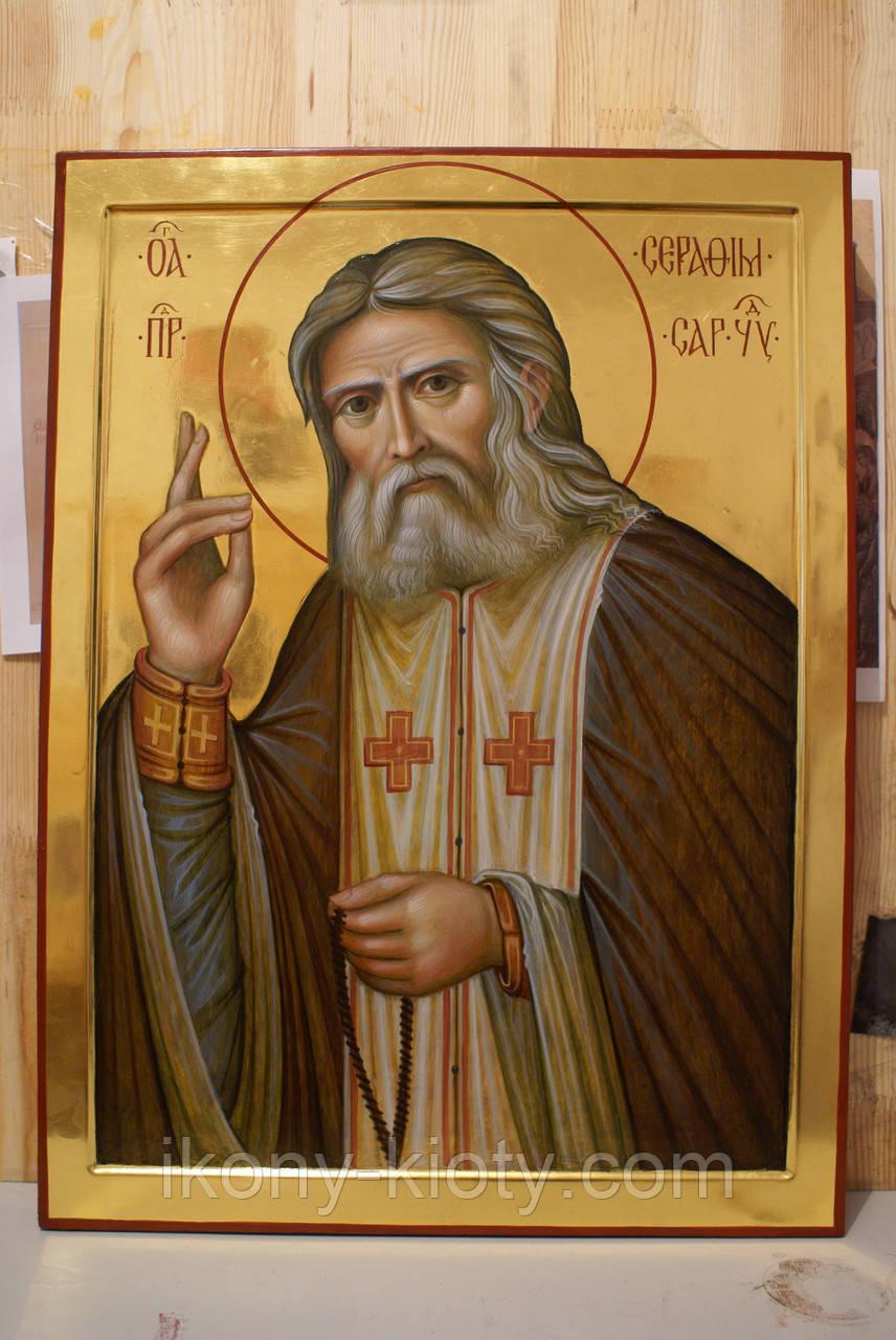 Икона Святого преподобного Серафима Саровского Чудотвореца.