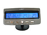 Автомобильные часы VST-7045 с датчиком температуры, фото 3