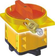 Кулачковый переключатель 1-полюсный 10А (для навесного замка)