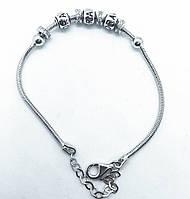 Браслет зі срібла 925 Beauty Jewels в стилі нової моделі №3, фото 1