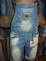 Комбинезон джинсовый женский шортами Sessanta