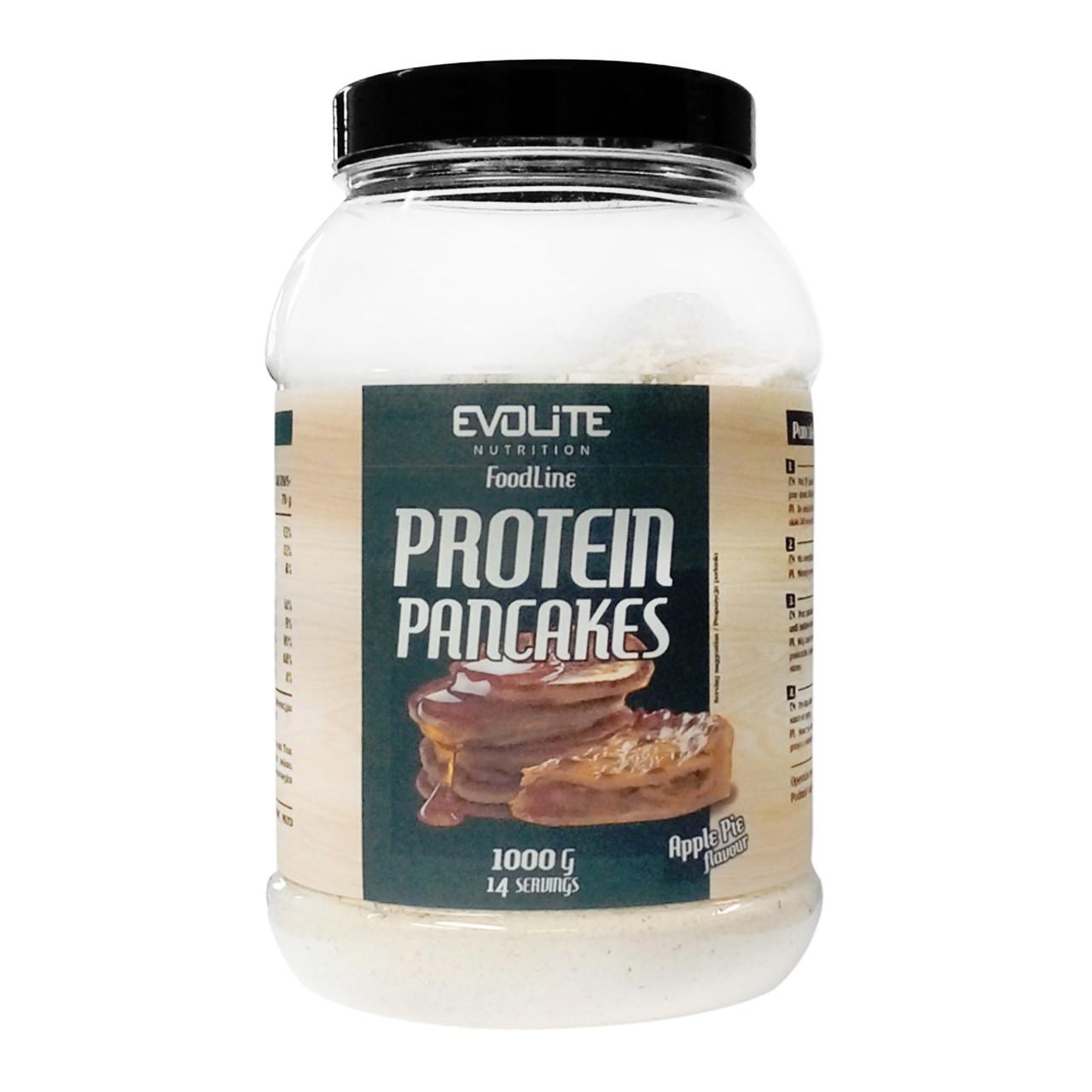 Протеин пенкейки Evolite Nutrition Protein Pancakes  1000g  (Apple Pie)