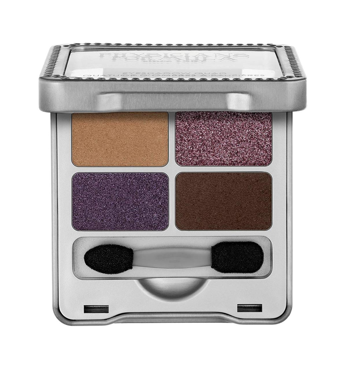 Палетка теней Physicians Formula Eyeshadow Quad Smoky Plums