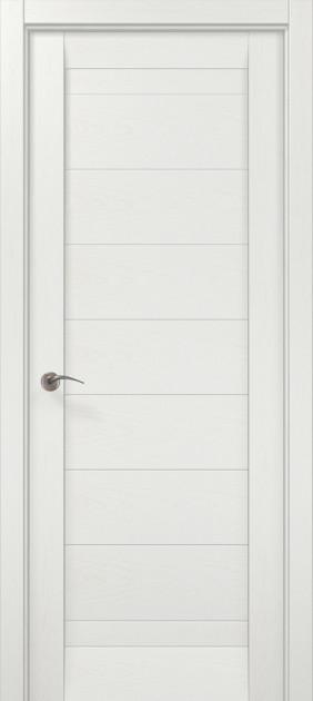 Двери Папа Карло Millenium ML-04 Белый ясень 2000х610х40