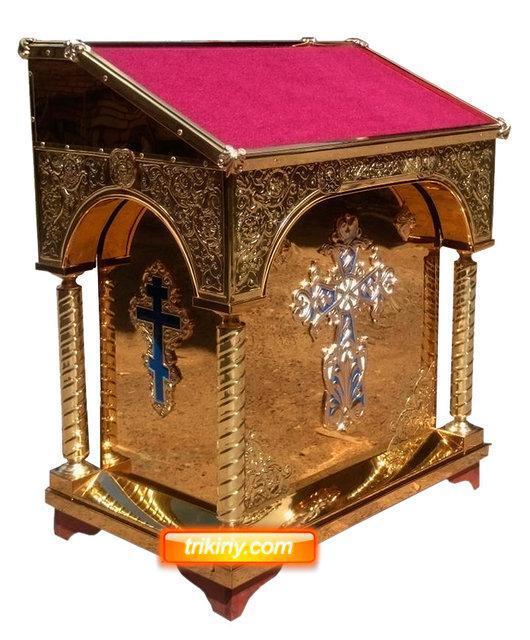 Аналой тетрапод с крестом