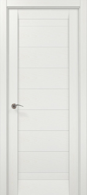 Двери Папа Карло Millenium ML-04 Белый ясень 2000х910х40