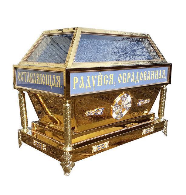 Гробница  под плащаницу Богородицы