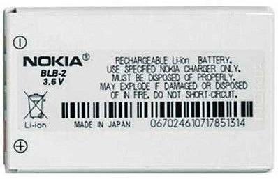 Аккумулятор BLB-2 для Nokia 5210, 6510, 7650, 8210, 8310, 8910, 910i