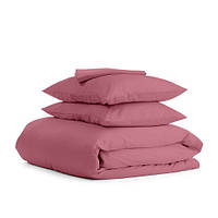 Комплект двуспального постельного белья сатин PUDRA