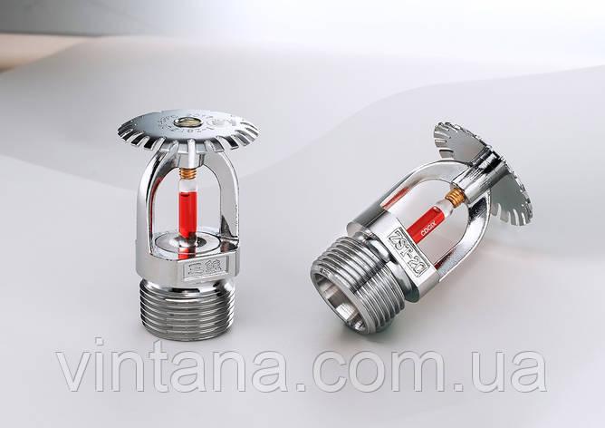 Спринклер противопожарный ZST DN 20, К-факор 115, розеткой вниз, розеткой вверх, ℃, фото 2