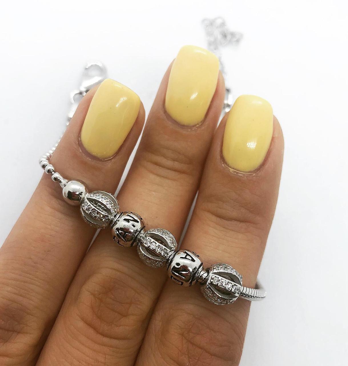 Браслет зі срібла 925 Beauty Jewels в стилі нової моделі №4