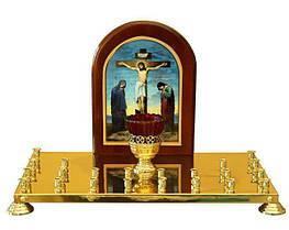 Крышка панихидного столика на 22 свечи
